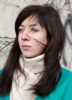 Olga Matviichuk, derdejaars student Nederlands aan de Nationale Taaluniversiteit in Kiev.