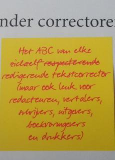 Ervaringen van een tekstcorrector