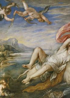 De ontvoering van (de vrouwelijke) Europa, schilderij Peter Paul Rubens.