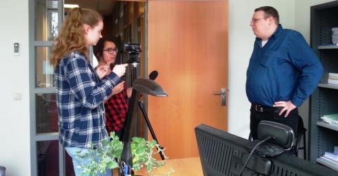 Studenten Journalistiek interviewen Kevin De Coninck
