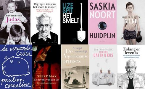 De best verkochte boeken van 2016