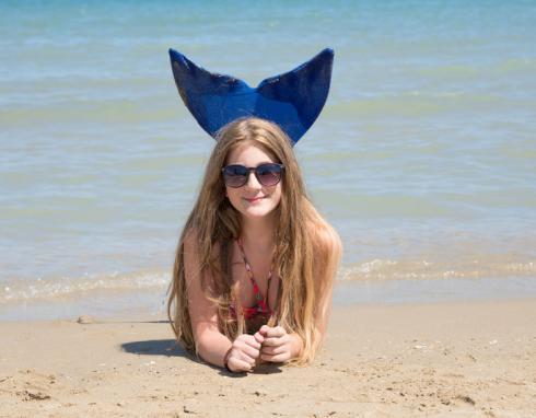 Nieuw woord: zeemeerminnenzwemles