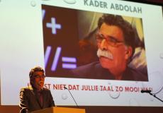 Kader Abdolah: 'Door het Nederlands ben ik een nieuwe man geworden.'