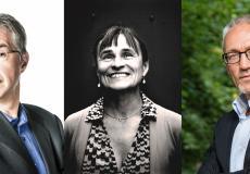 Jan Hautekiet, Kristien Hemmerechts en Wim Vanseveren: Germanisten die in 1977 afstudeerden