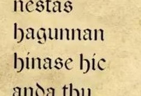 Het oudste liefdesgedicht ...