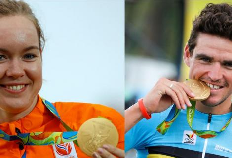 Succesvolle wielrenners op Olympische Spelen